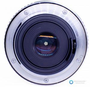 Connecteur d'une lentille exposé