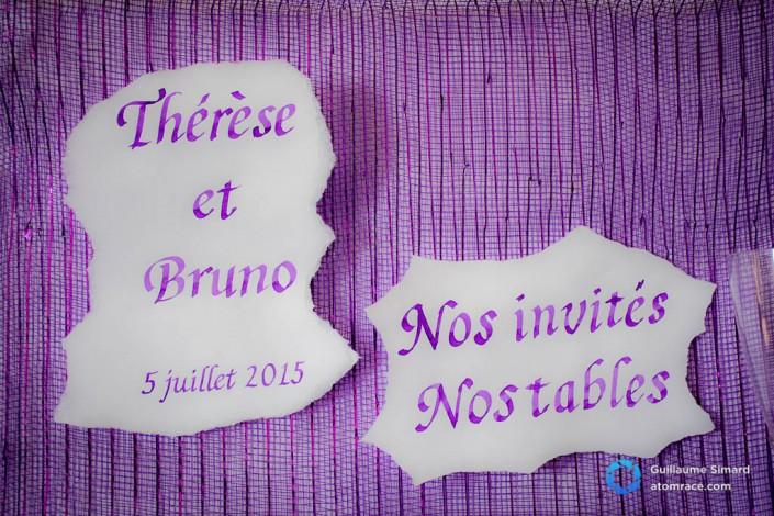 Photographie de mariage de Bruno et Thérèse