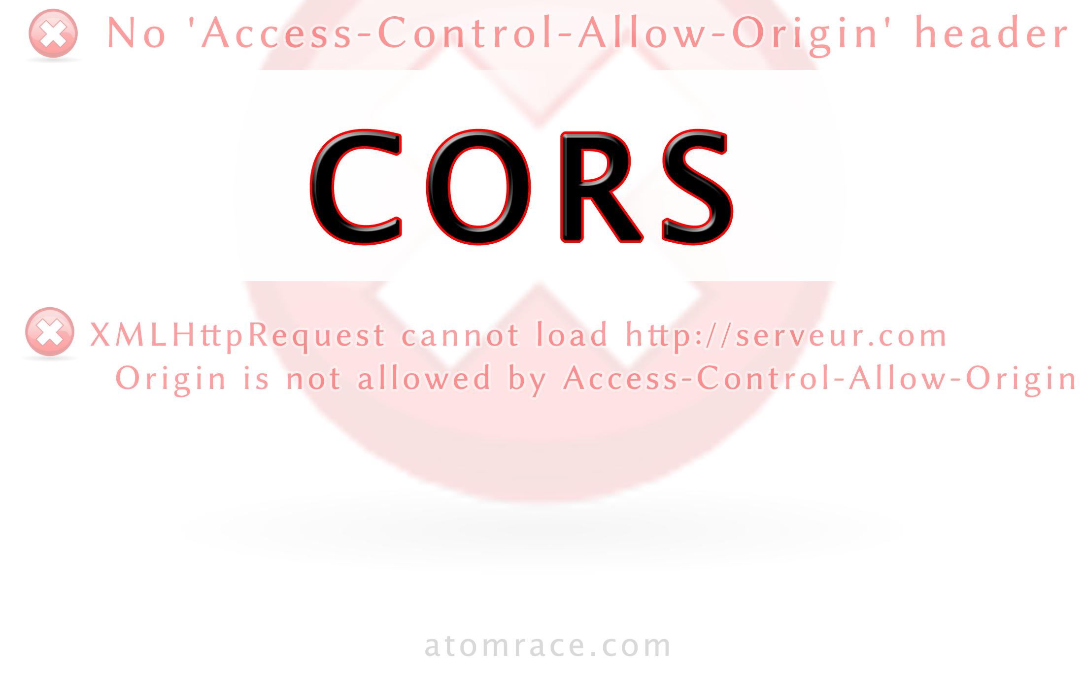 Cross Origin Resource Sharing Cors Atomrace