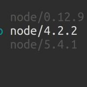 n et npm et nodejs