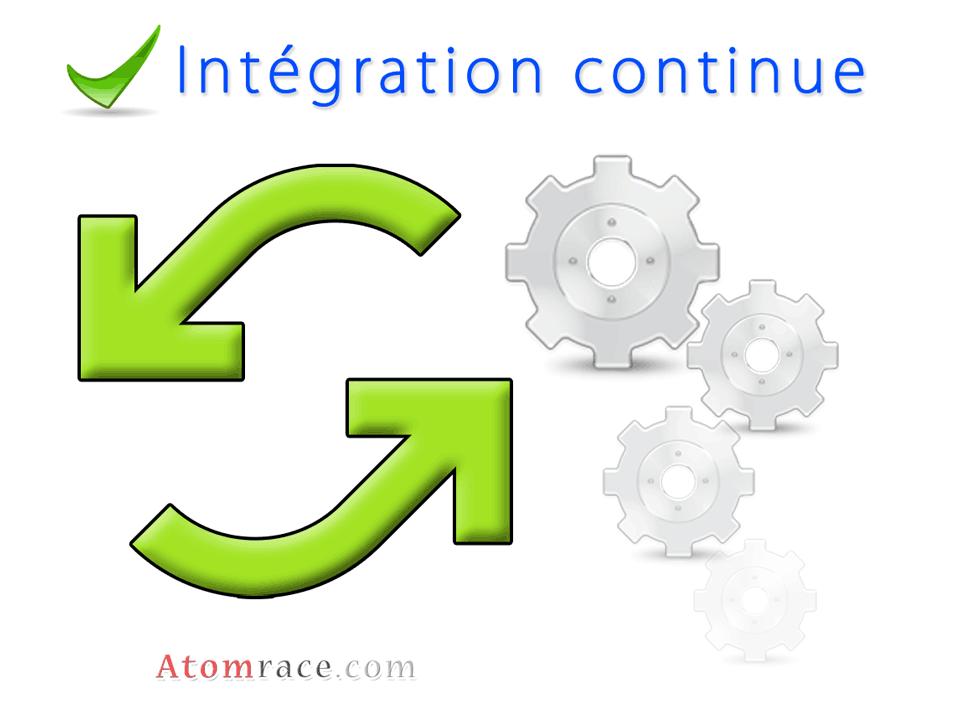 l'intégration continue d'une application web