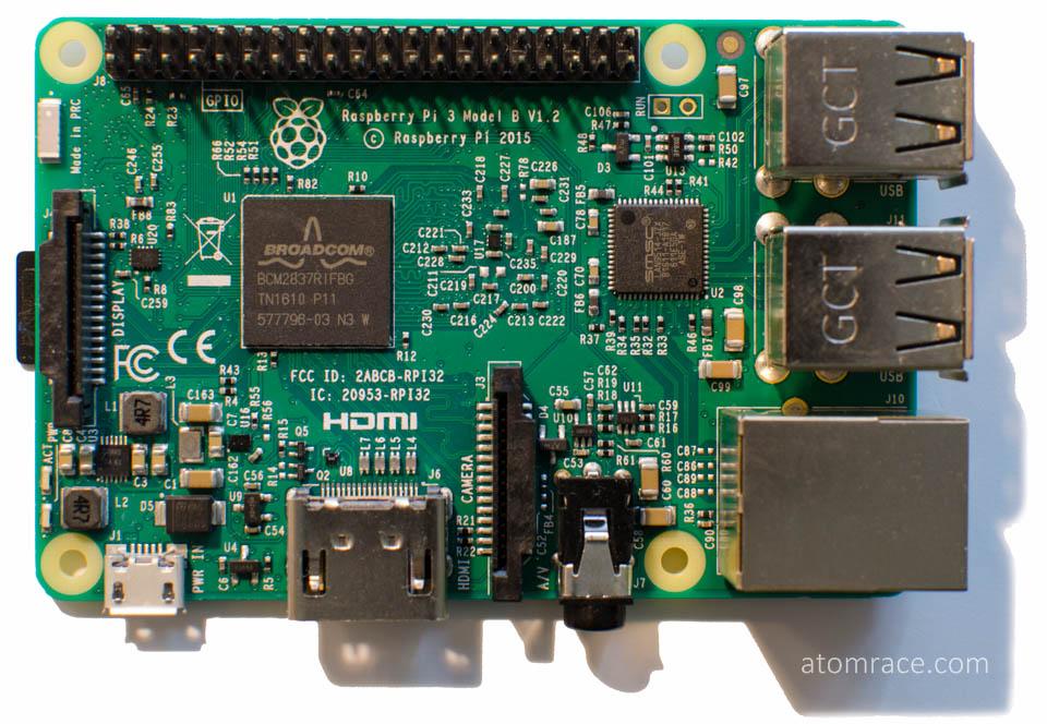 Raspberry Pi 3 macro