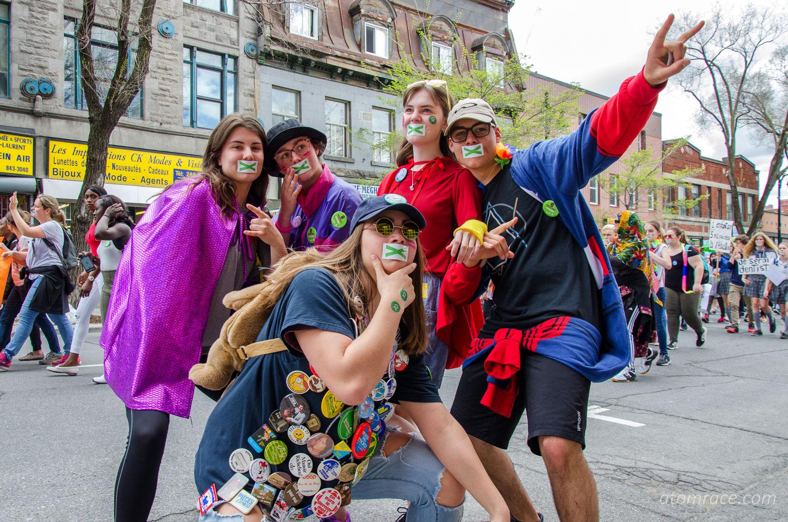 Super-héros de la Marche monde 2017