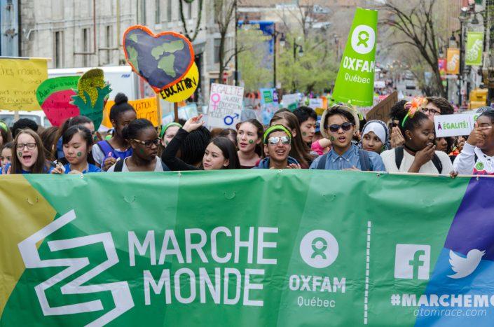 Banderole de la Marche monde 2017
