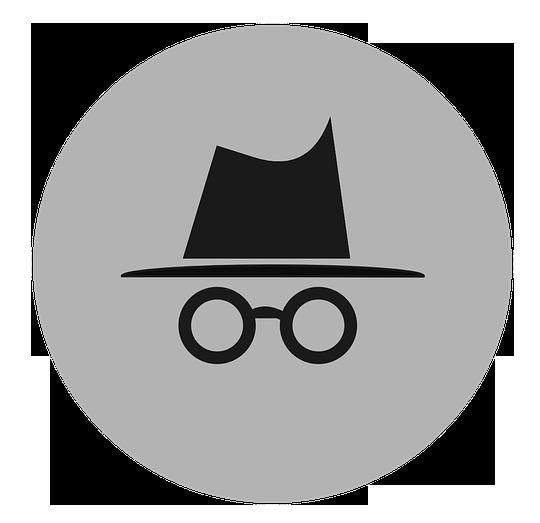 mode incognito des navigateurs web