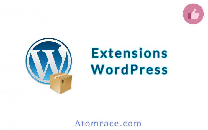 Extensions pour WordPress - Bannière