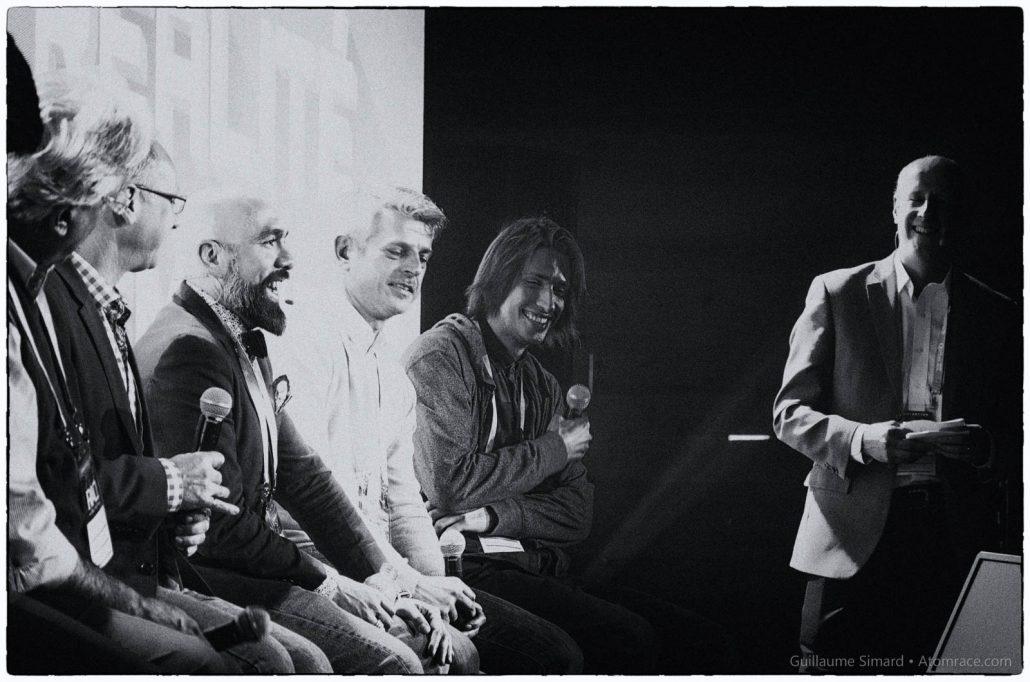Panel en noir et blanc