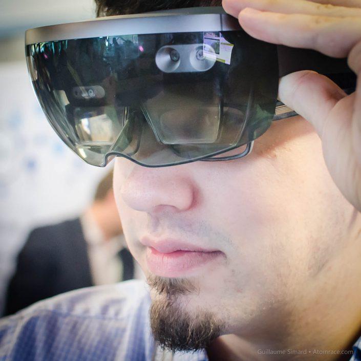 Jean avec le HoloLens